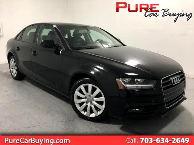 2014 Audi A4 2.0 T Sedan FrontTrak Multitronic **Must See This