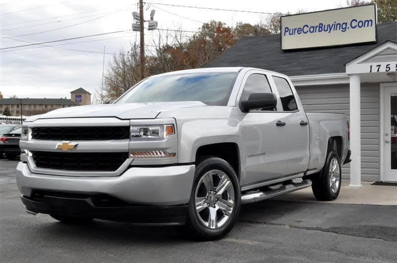 2017 Chevrolet Silverado 1500 Work Truck Double Cab **FINANCING AVAILBLE**