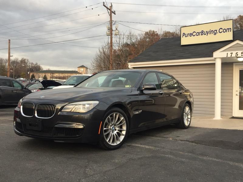 2012 BMW 7-Series 750Li xDrive **M-Package// Carfax Certified**