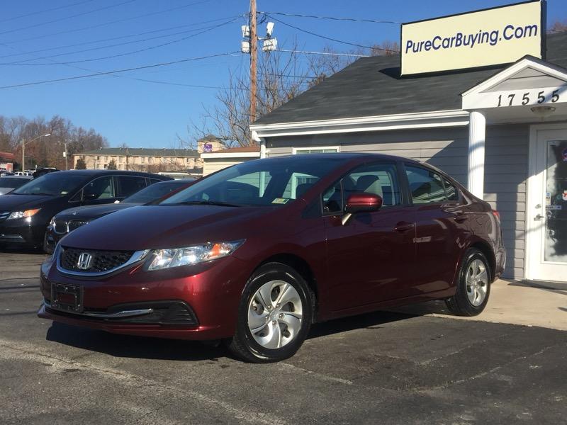 2015 Honda Civic LX Sedan CVT **Great Prices// Low Miles// Excellen