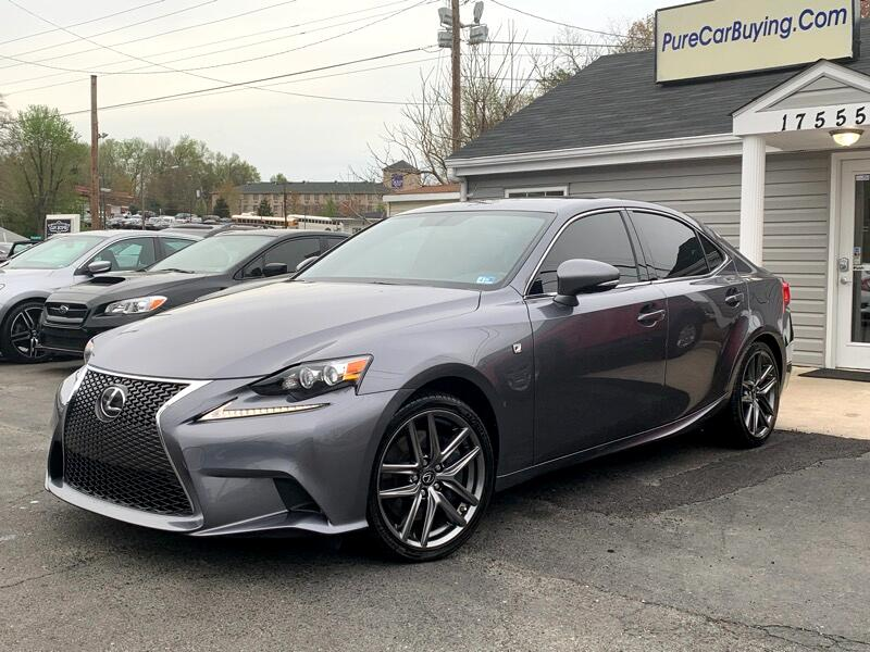 2016 Lexus IS 300 AWD **FSPORT**