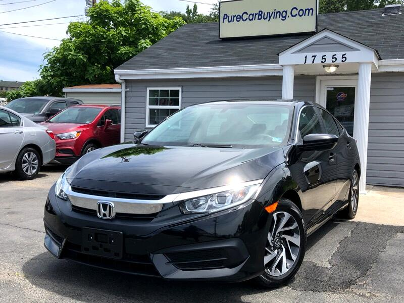 Honda Civic EX Sedan CVT 2016