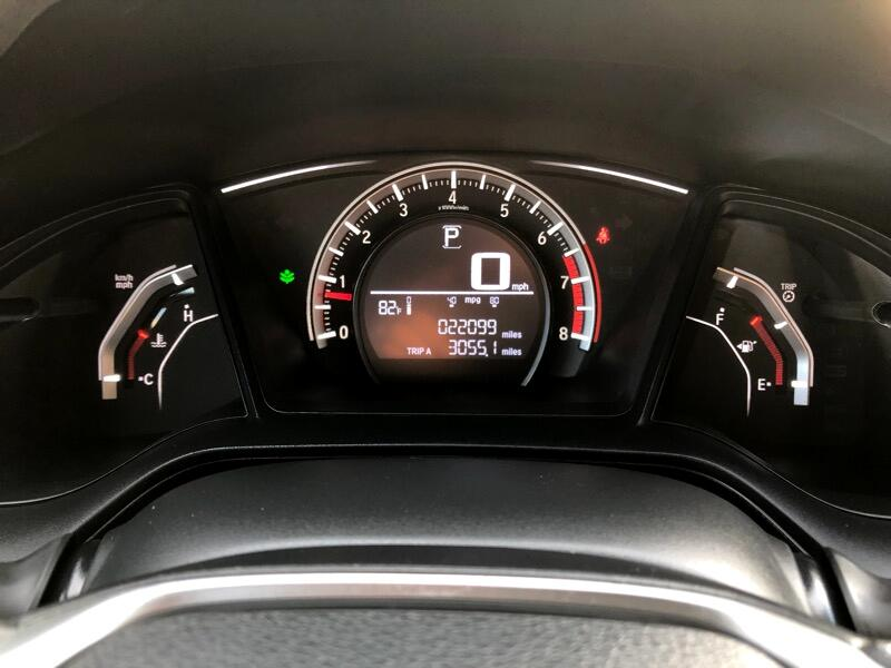 2017 Honda Civic LX HATCHBACK CVT