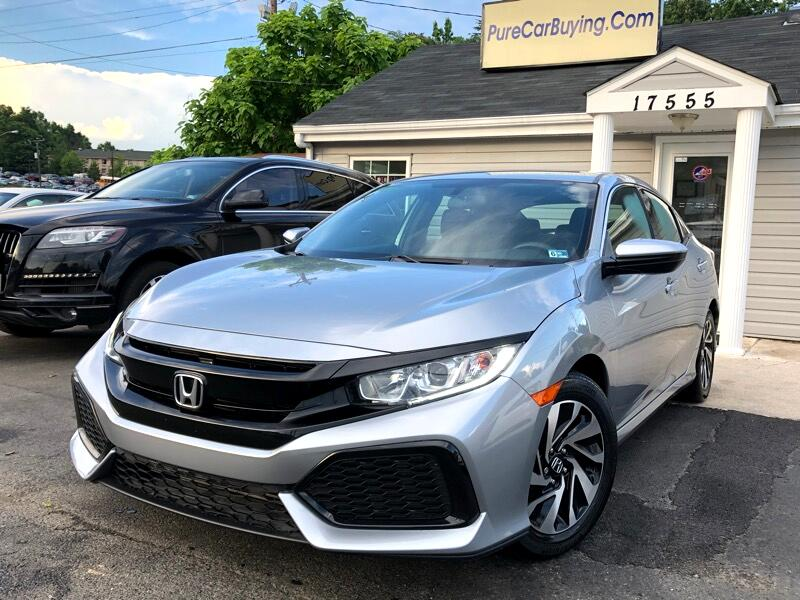 2017 Honda Civic LX HATCHBACK CVT
