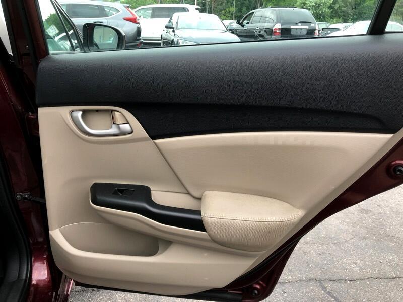 Honda Civic LX Sedan CVT 2015