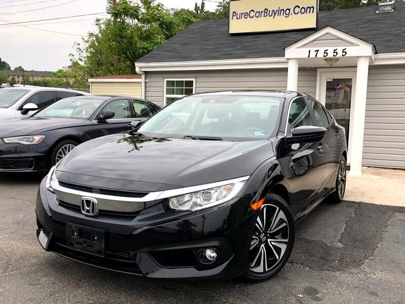 2016 Honda Civic EX-T Honda Sensing Sedan CVT
