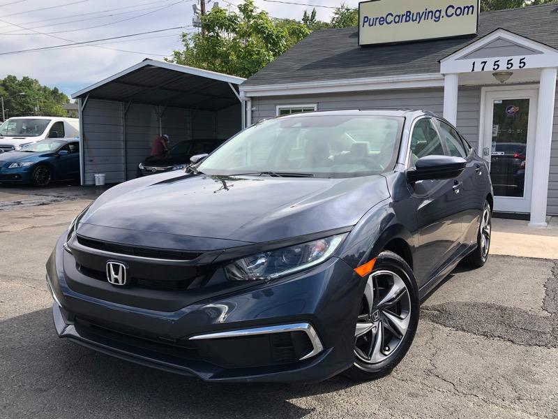 2019 Honda Civic LX Honda Sensing Sedan CVT