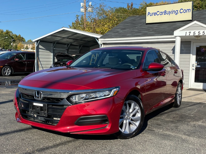 2018 Honda Accord LX CVT