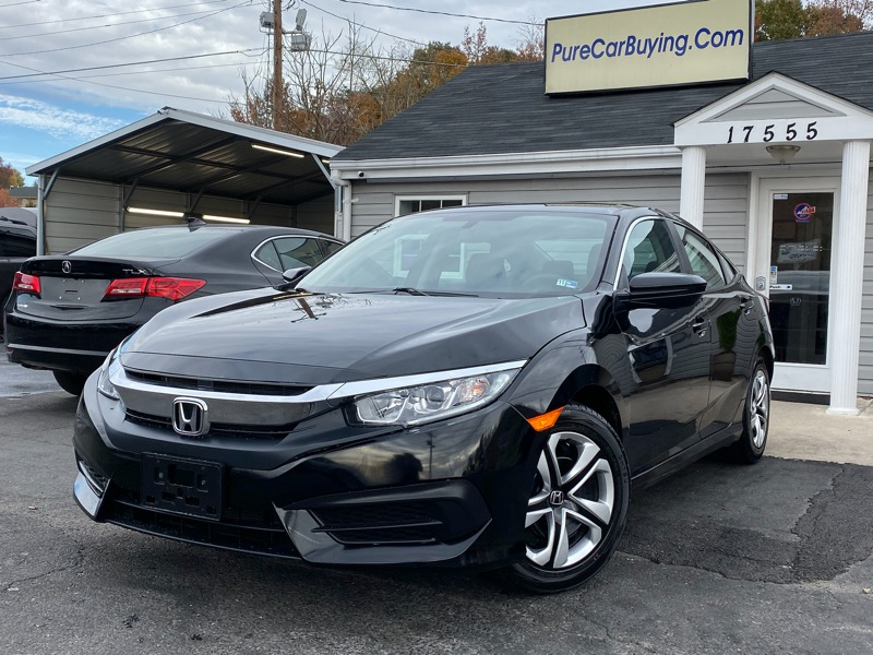 Honda Civic LX Sedan 6MT 2018