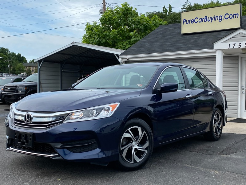 Honda Accord LX Sedan CVT 2017
