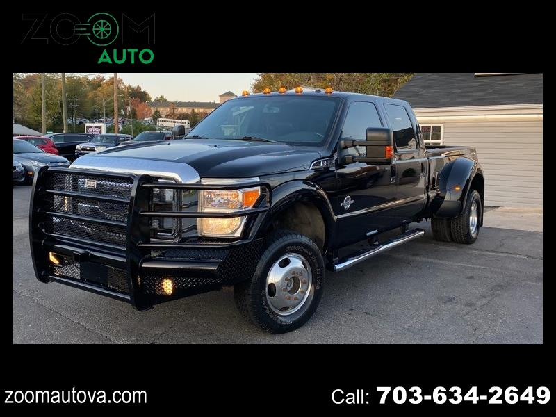 Ford F-350 SD Lariat Crew Cab Long Bed DRW 4WD 2016