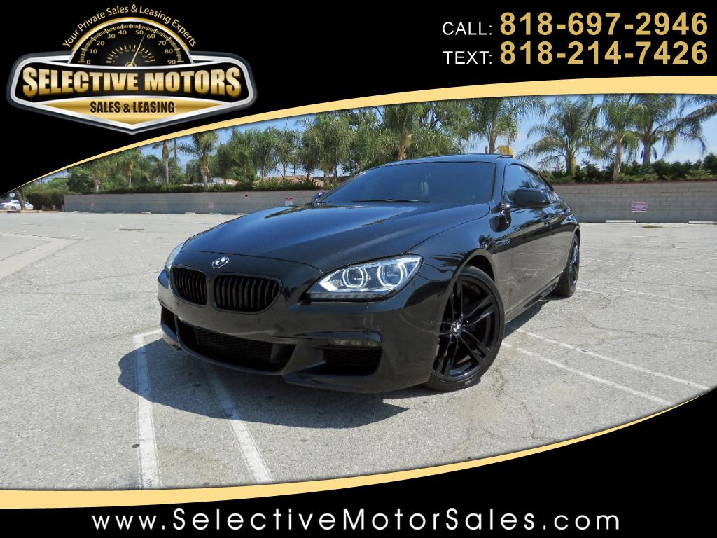 2014 BMW 6-Series Gran Coupe 640i M-Sport
