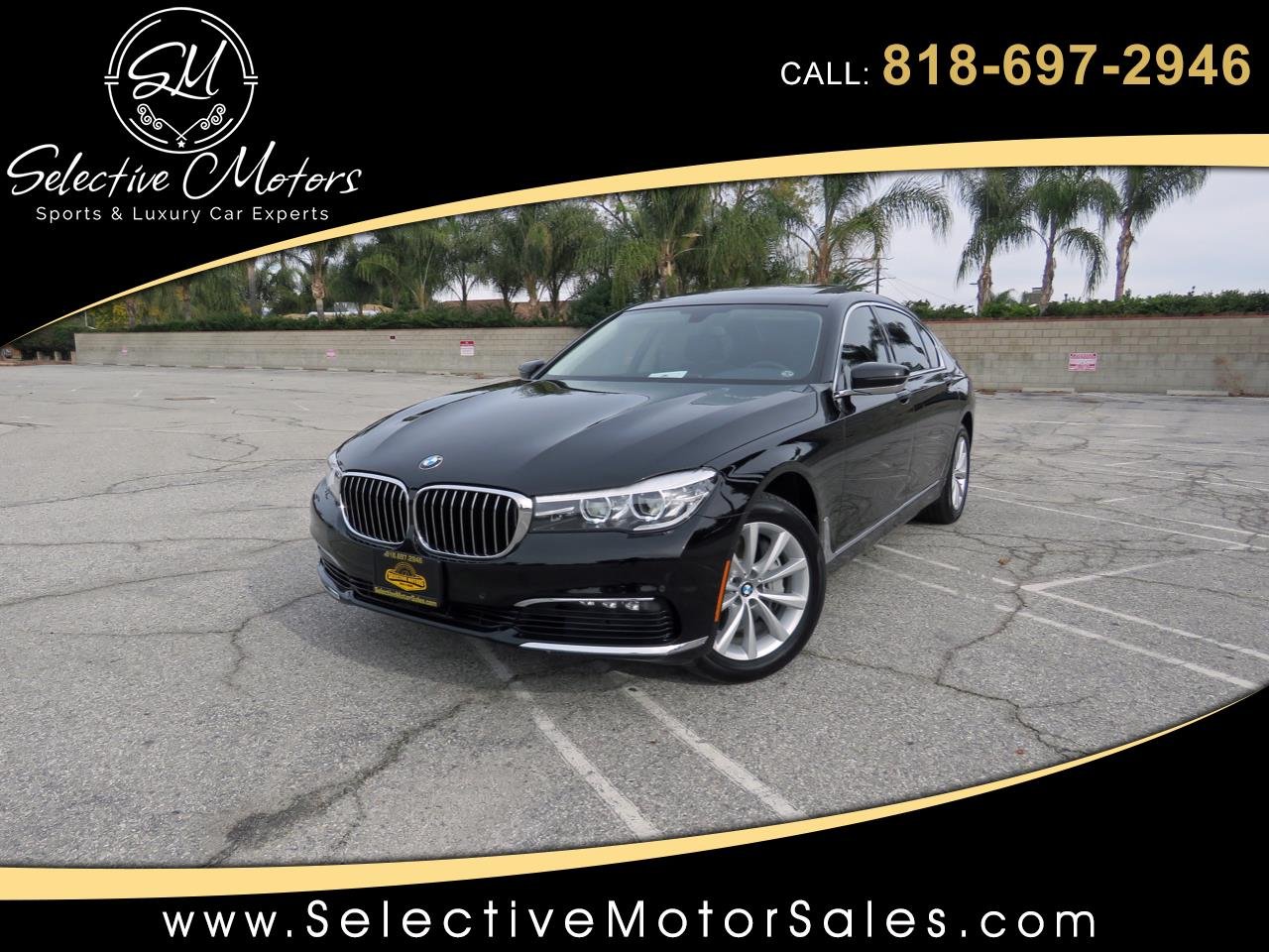 2017 BMW 7-Series 740i Luxury Pkg.