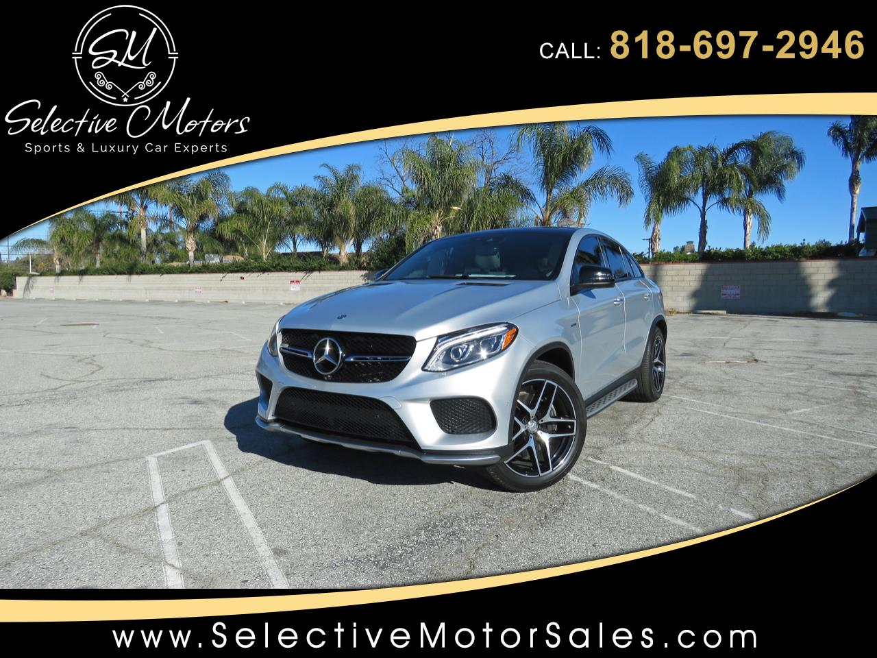 2016 Mercedes-Benz GLE-Class GLE450 AMG 4Matic Coupe