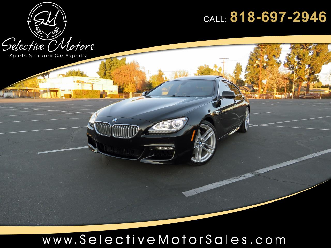 2013 BMW 6-Series 650i Gran Coupe M-Sport