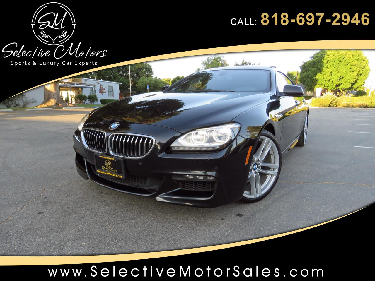 2015 BMW 6-Series Gran Coupe 640i M-Sport