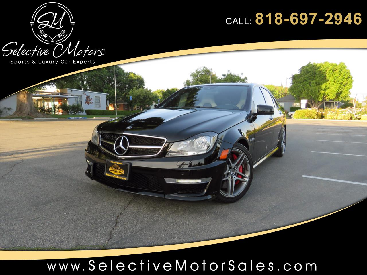 2013 Mercedes-Benz C-Class C63 AMG Sport Sedan