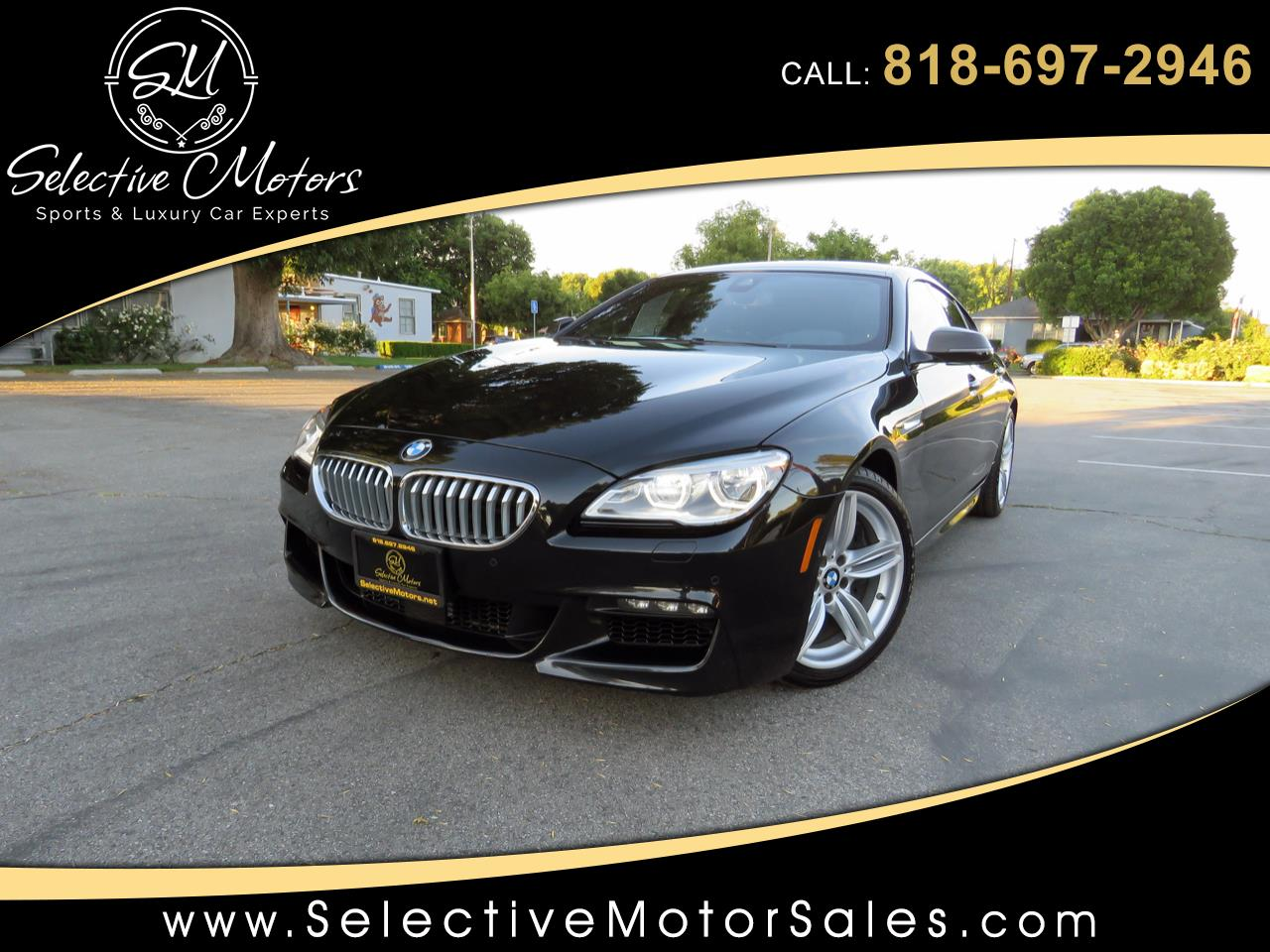 2016 BMW 6-Series Gran Coupe 650i xDrive M-Sport