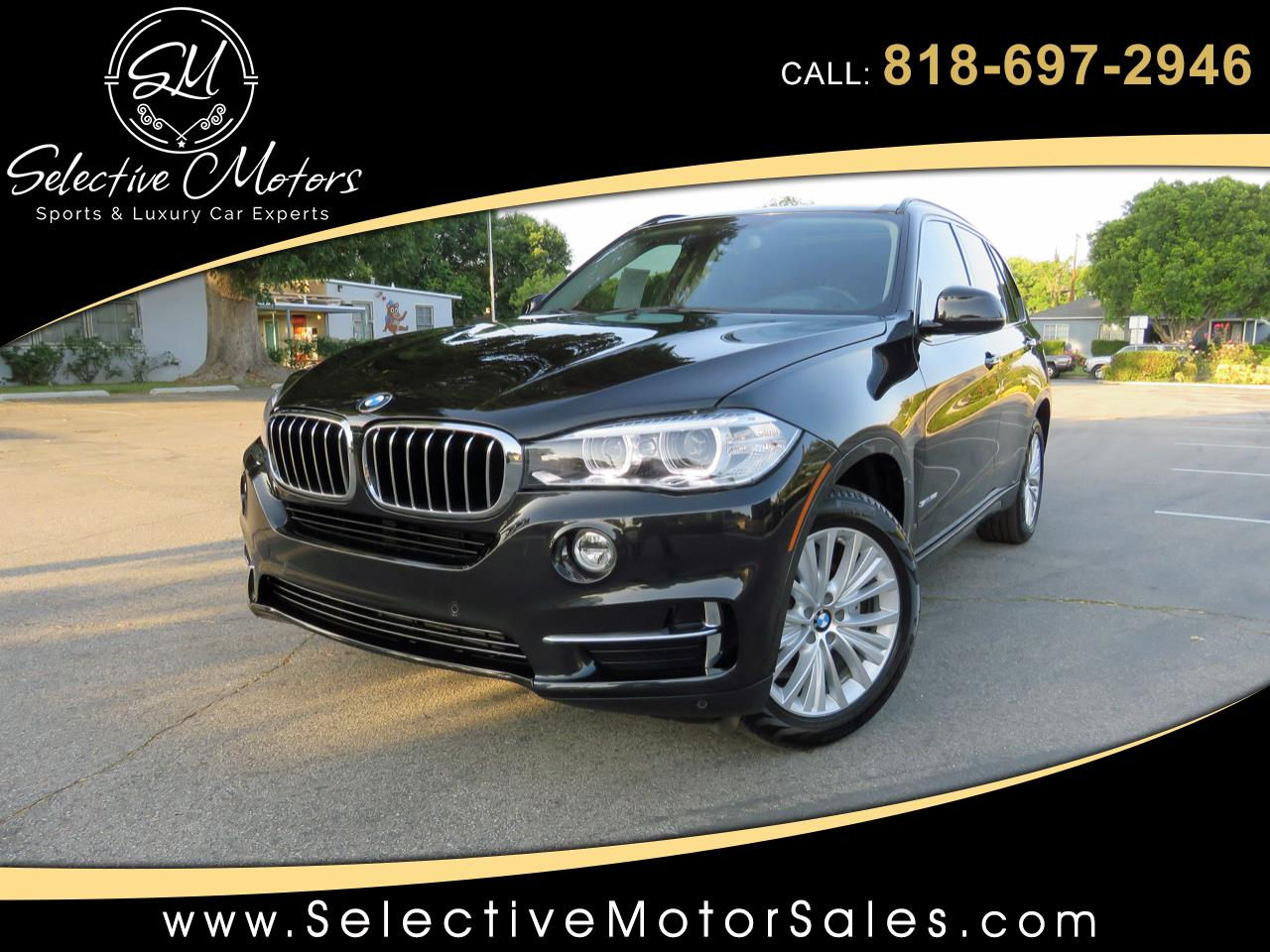 2016 BMW X5 sDrive35i Luxury Line w/ 3rd Row