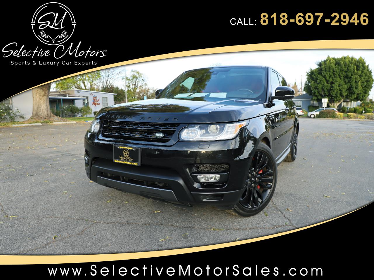 2016 Land Rover Range Rover Sport 5.0L v8 SuperCharged Limited Edition