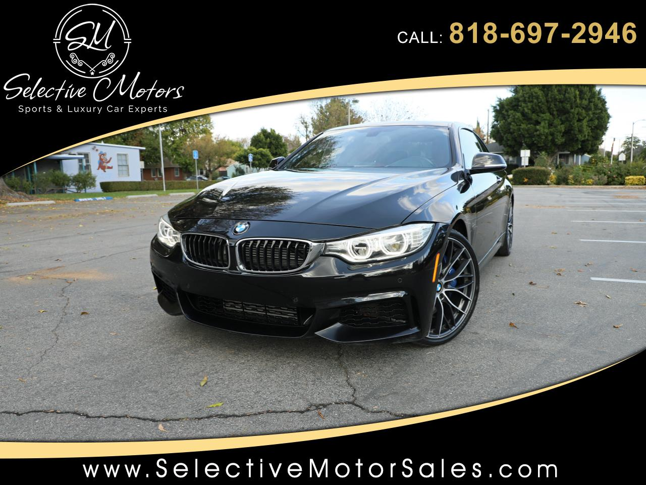 2014 BMW 4-Series 435i Coupe M-Sport