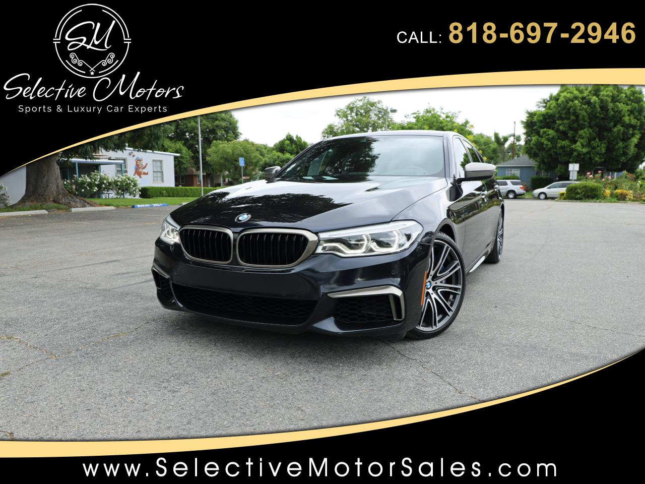 BMW 5-Series M550i xDrive 2018