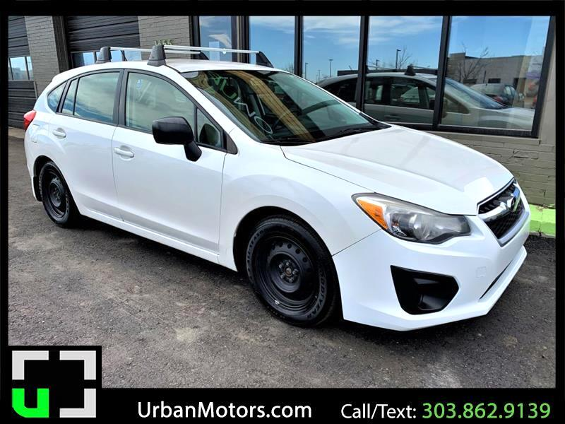 Subaru Impreza Base 5-Door 2012