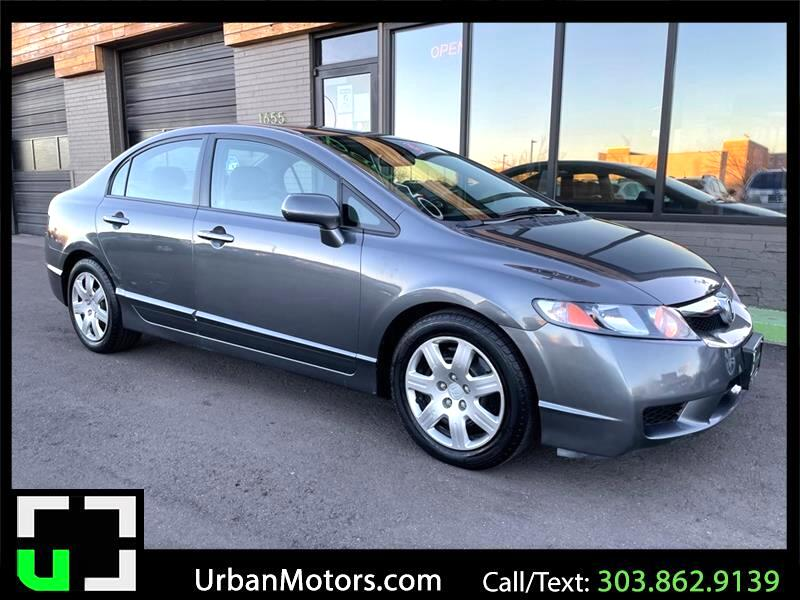 Honda Civic LX Sedan 5-Speed MT 2010