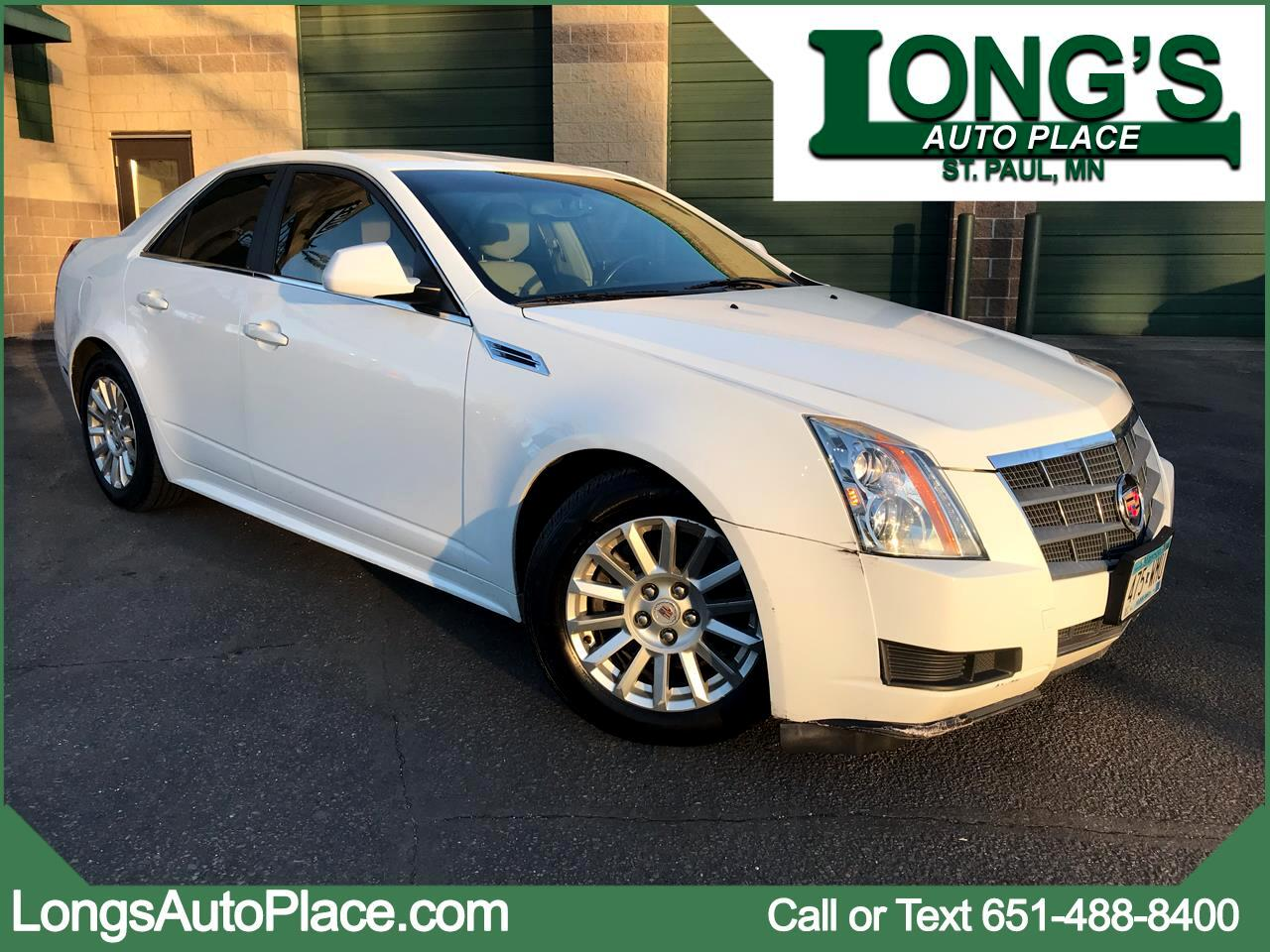 2010 Cadillac CTS Sedan 4dr Sdn 3.0L Luxury RWD