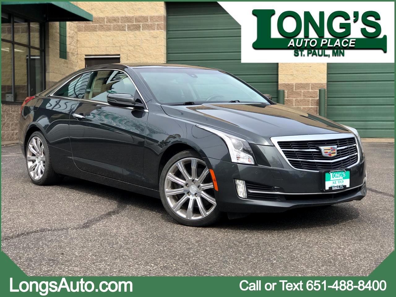 2016 Cadillac ATS Coupe 2dr Cpe 2.0L Luxury Collection AWD
