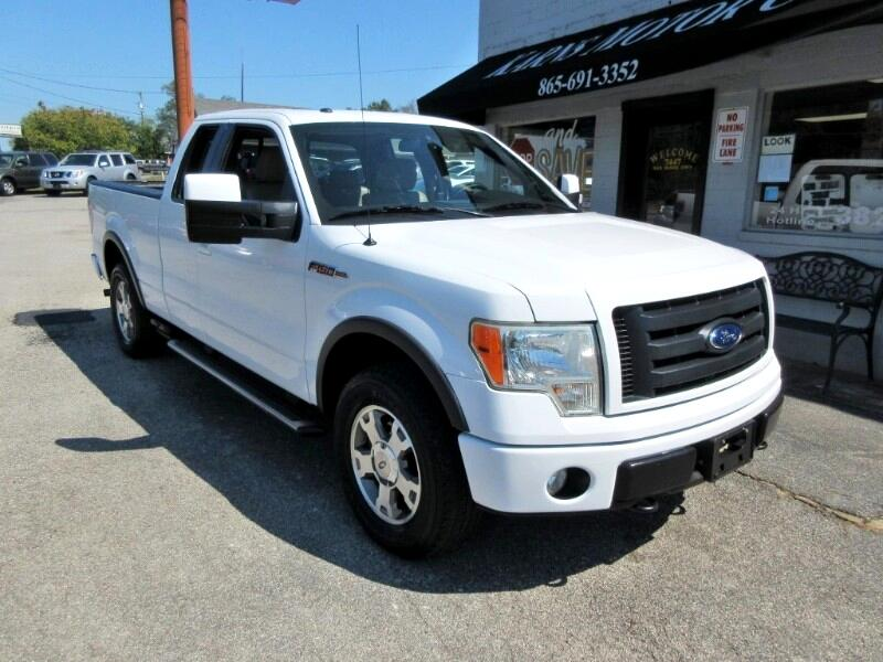 2009 Ford F-150 FX4 SuperCab 5.5-ft. Bed 4WD