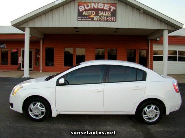used 2007 nissan sentra sedan for sale in paragould ar 72450 sunset auto sales. Black Bedroom Furniture Sets. Home Design Ideas
