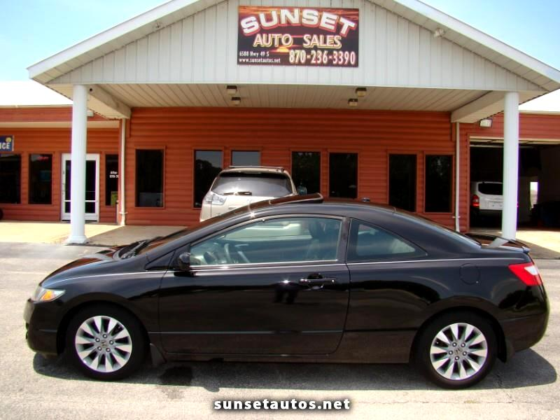 2010 Honda Civic EX Coupe 5-Speed AT with Navigation