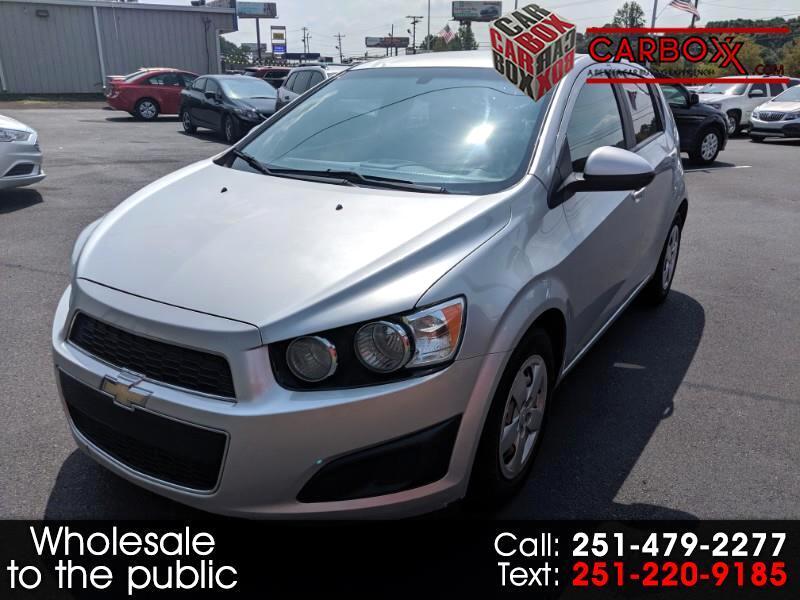 Chevrolet Sonic LS Auto 5-Door 2015