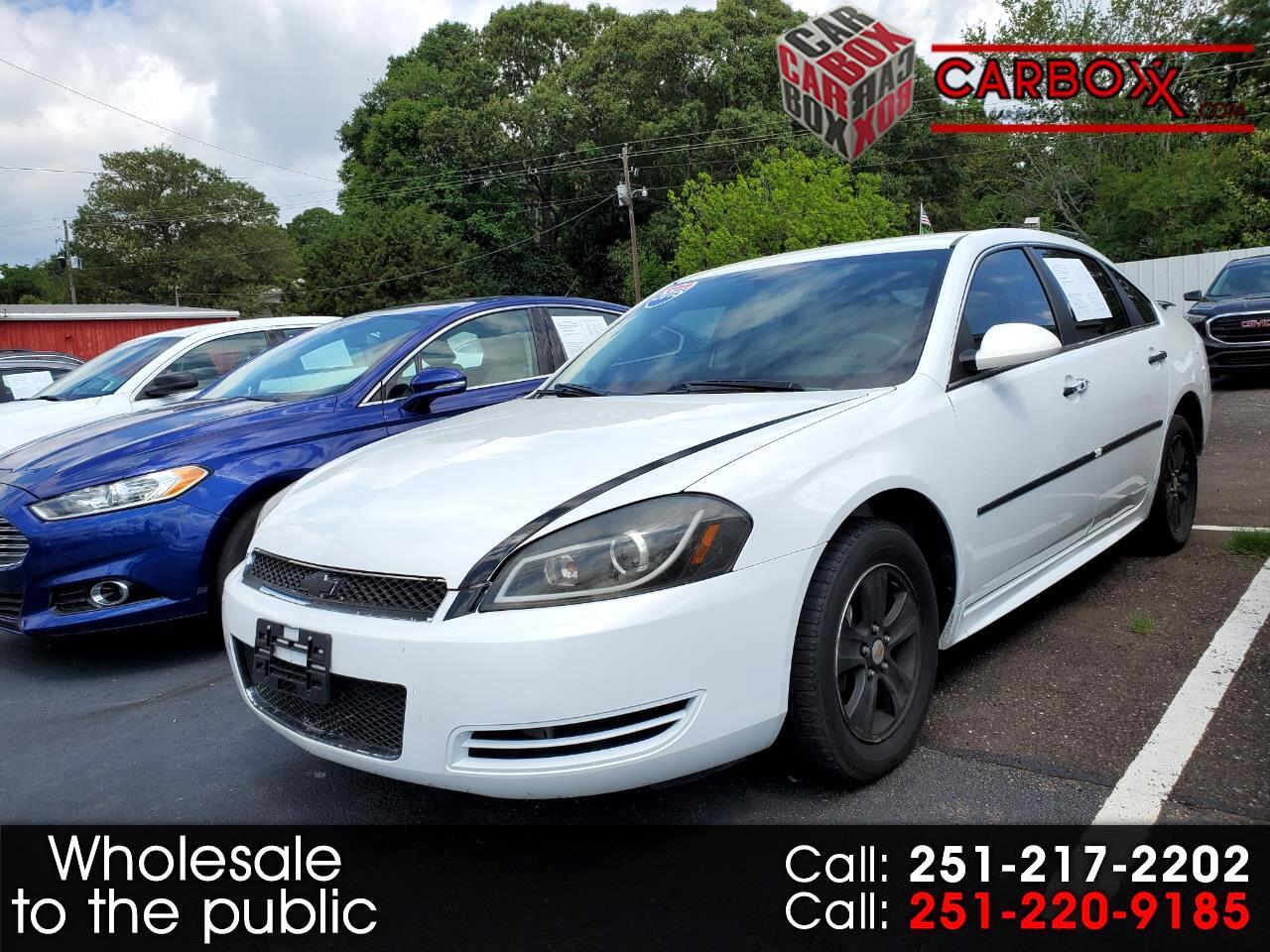 Chevrolet Impala Limited 4dr Sdn LS Fleet 2015