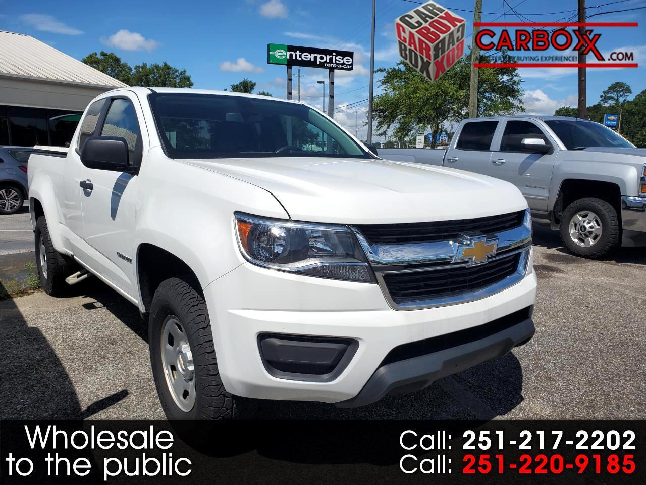 "Chevrolet Colorado 2WD Ext Cab 128.3"" Work Truck 2018"