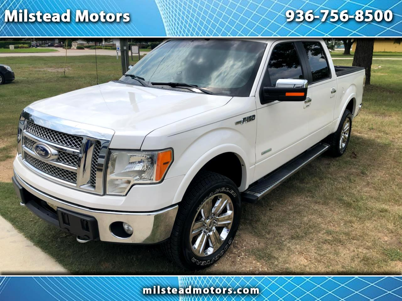 "Ford F-150 4WD Supercab Flareside 145"" FX4 2012"