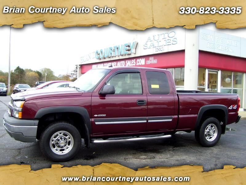 2003 Chevrolet Silverado 2500 LT Ext. Cab 4WD