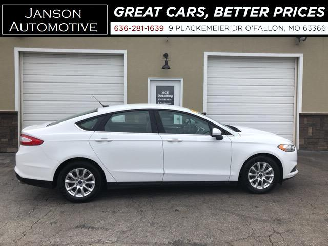 2015 Ford Fusion S BACKUP CAMERA FORD SYNC/BLUETOOTH 40MPG! NICE CA