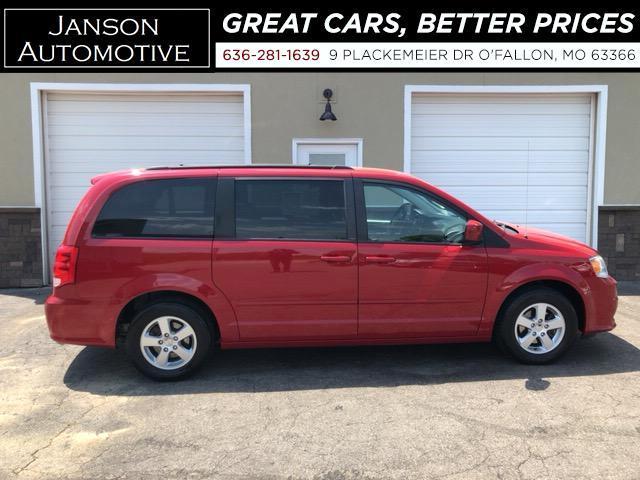 2012 Dodge Grand Caravan SXT PWR SLIDING DOORS 3RD ROW ALLOYS STOW-N-GO NIC