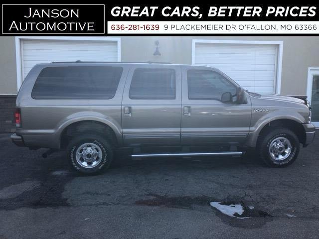 2005 Ford Excursion LIMITED 4X4 TURBO DIESEL NAVIGATION DVD 3RD ROW LE