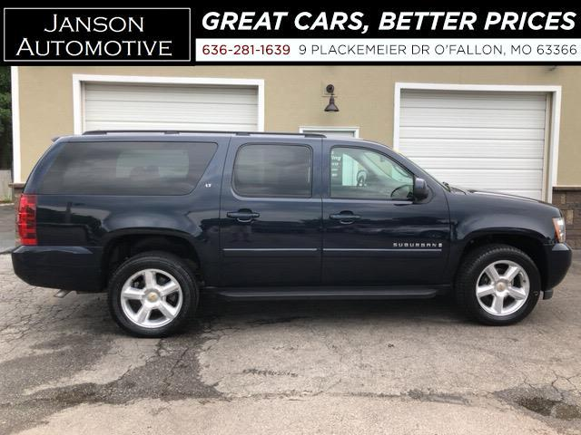 2007 Chevrolet Suburban 1500 LT 4X4 LEATHER 3RD ROW MOONROOF CAPT CHAIRS R