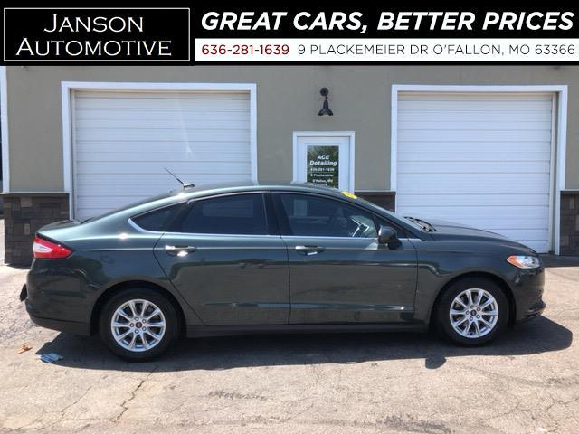 2015 Ford Fusion S FORD SYNC/BLUETOOTH BACKUP CAMERA ALLOY WHEELS 4