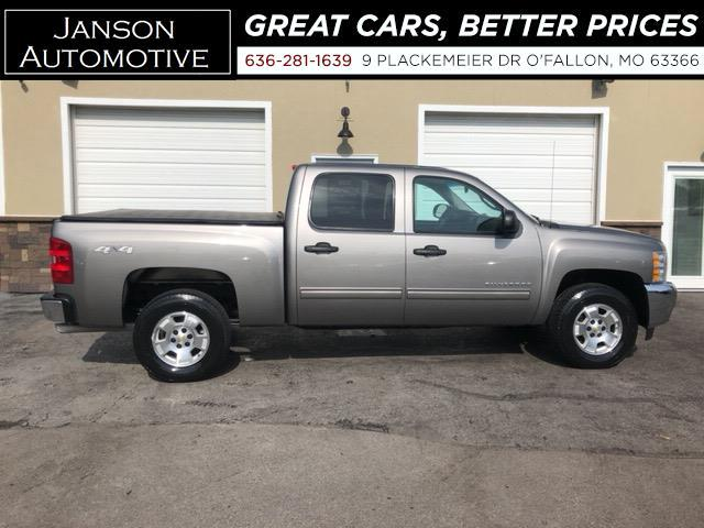 2013 Chevrolet Silverado 1500 LT CREW CAB 4X4 6.2L V8 LEATHER ALLOYS LOADED! NIC