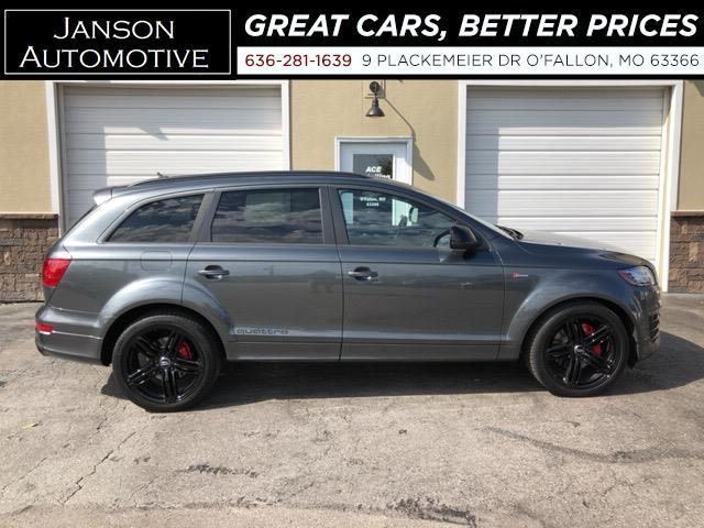 2015 Audi Q7 ALL WHEEL DRIVE PRESTIGE S-LINE SPORT PACKAGE NEW