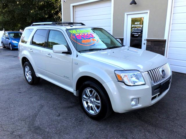 2008 Mercury Mariner PREMIER V6 4X4 MOONROOF LEATHER LOW MILES! ALLOYS!
