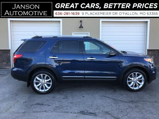 2012 Ford Explorer XLT V6 4X4 LEATHER 3RD ROW ALLOYS FORD SYNC/BLUETO