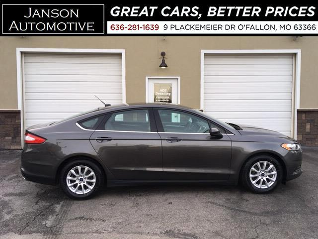 2015 Ford Fusion S ALLOYS SYNC/BLUETOOTH B/U CAMERA 4 NEW TIRES SUP