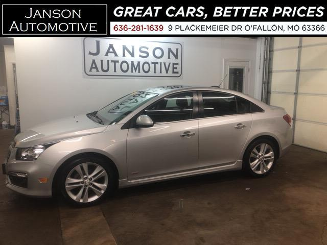 2015 Chevrolet Cruze LTZ RS MOONROOF LEATHER ALLOYS LOADED! MUST SEE!!