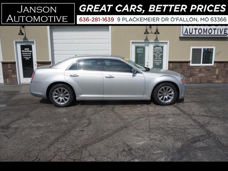 2012 Chrysler 300 LIMITED LEATHER CHROME WHEELS PWR SEAT LOADED!